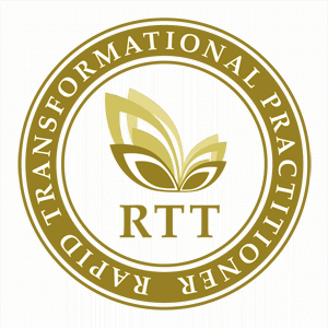 RTT Practitioner Roundel Logo Gold
