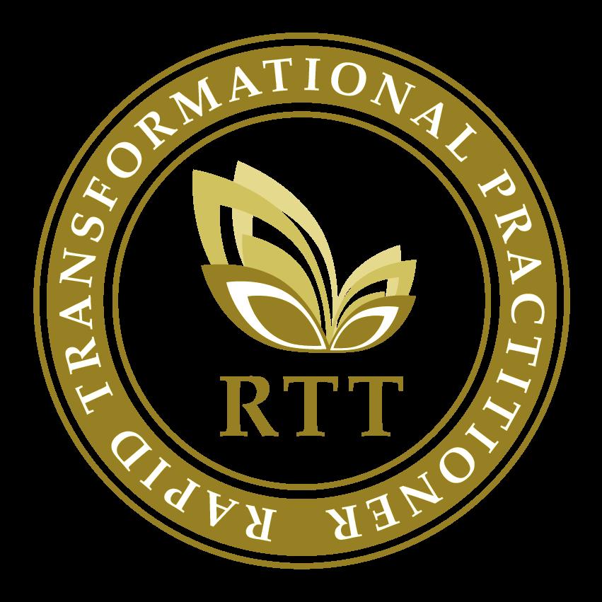 RTT Practitioner Roundel Logo Gold Home